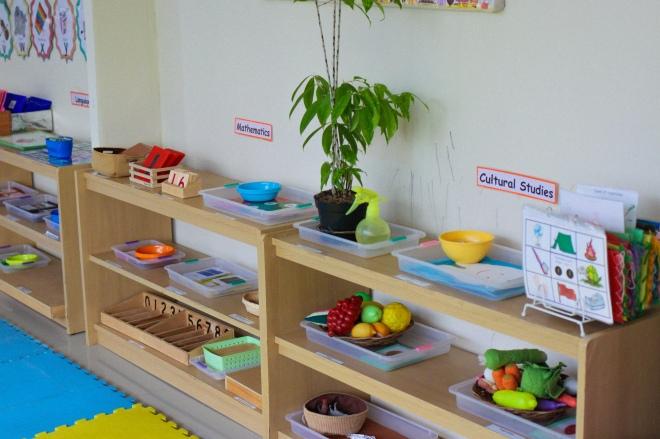 Plateaux Montessori